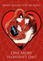 Spider-Man - OMVD Valentine by chrismas-81