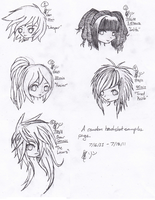 Head Shot Sample Page by NobodysWanderingSoul