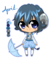 April Adoptable! GIVEAWAY~! {CLOSED} by rainscarce