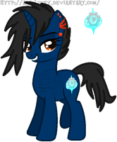 Soul Stone: Official Ponysona Debut by absolzoey
