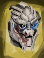 GARRUS SPEED PAINT by SpartanIdeal