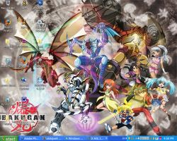 bakugan desktop by ohitsjoe5