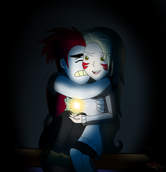 No need to be scared. ~Jalana-Collab~ by WindCharmer-13