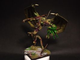 Chaos Daemon Prince of Nurgle by Brovatar