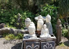 Garden Statues by andromeda