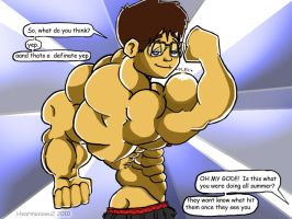 Geek Muscle by hearmenowu2