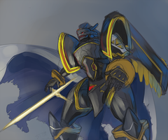 Alphamon by J3rry1ce