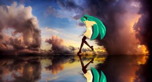 MMD - Miku's Reflection (Unedited Ver.) by MikuHatsune01