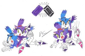The Cat Fight by BlackCarrot1129