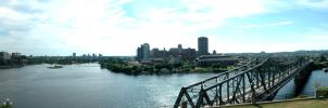 Ottawa and Gatineau Panorama by crazySmiley