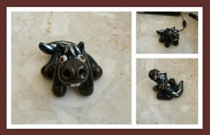 mustang made of fimo by MrsEfi