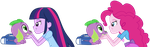 Spike gets ALL the Equestria Girls - part 1 by titanium-pony
