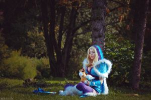 DotA 2 - Crystal Maiden - Bought a courier by MilliganVick