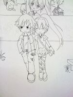 Inked A Little love Story by J10-E-2
