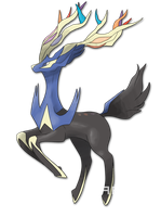 Xerneas V2 by Je-lly