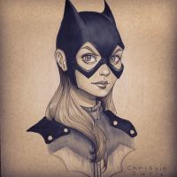Batgirl by chrissie-zullo