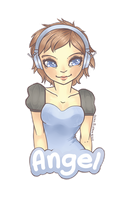 Angel Badge by Hardrockangel
