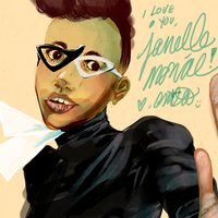 i love you, janelle monae by the-star-samurai