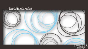 Scribble Circles by evyblack