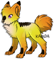 Glow Hound: ADOPTED by Kuro-Creations