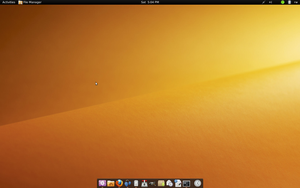 Gnome Shell On Ubuntu Karmic by billgoldbergmania
