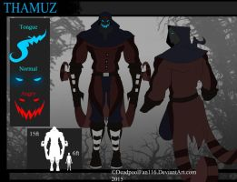 ::Thamuz New Ref Sheet:: ((UPDATE)) by xXRiseOfTheDeadXx