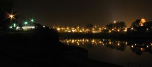 Cracow at night 2 by kaiiko