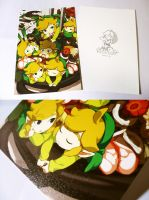 (Information) LOZ color illustrate postcard by muse-kr
