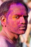 Holi Festival of Colours 03 by obviologist