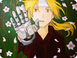 Ed Elric, FMA : ) by Vespertilio6
