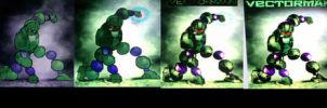 Evolution of Vectorman by Hellzguardean