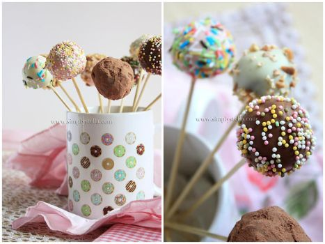 The Real Thing: Cake Pops by thinkpastel
