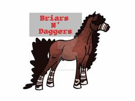 Briars N' Daggers by StableDaydreams