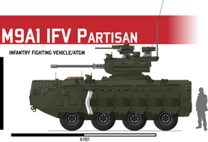M9 Partisan IFV by Afterskies