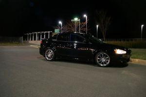 My Car At Night by scraverX