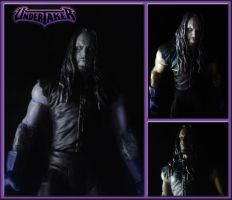 WWE Custom Undertaker by Simon-Williams-Art