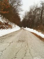 A road to nowhere. by Saici