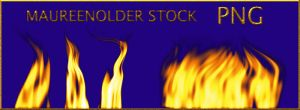 STOCK PNG fire by MaureenOlder