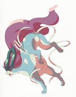 suicune by nastyjungle