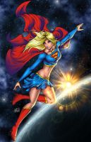 The Supergirl of Earth by particle9