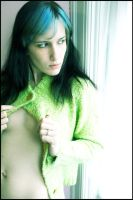 Green Sweater Series by KenHarrisPhoto