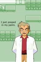 Professor Oak's Accident by endgame99