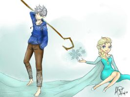 Jack And Elsa by CJSulquiano
