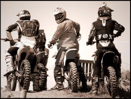 MX...at the startline by norahomey