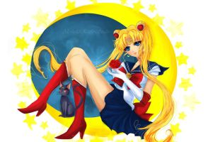 Sailor Moon by AlcoholicRattleSnake