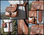 Renaissance Belt and Purse -resized- by Adhras