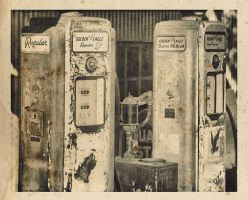 Old Gas Pumps 1 by fotocali