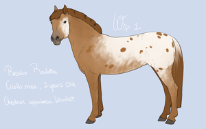 Ref Russian Roulette -wip1- by BH-Stables