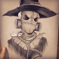Scarecrow by chrissie-zullo
