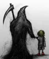 Death And The Boy by Eemeling